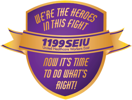 We're the heroes in this fight. Now it's time to do what's right!